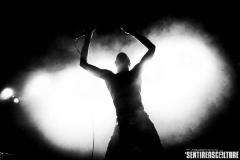 Death Grips - Circolo degli Artisti, Roma 2013