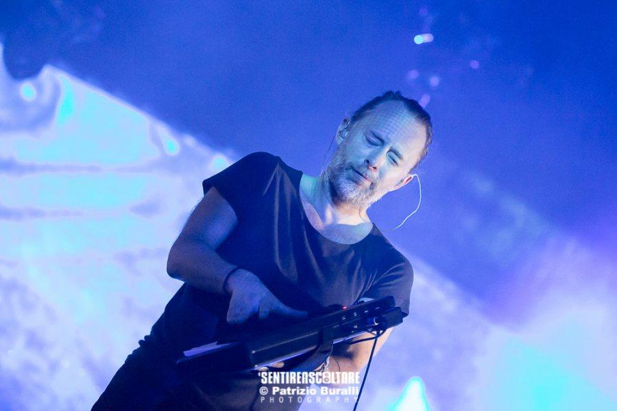 Radiohead Firenze Parco Delle Cascine 2017 Live Tour