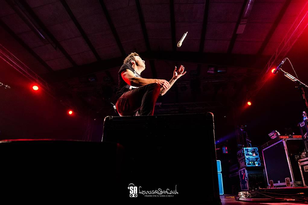 Simple Plan - Ghost Town Bologna - francesca sara cauli 2016_17