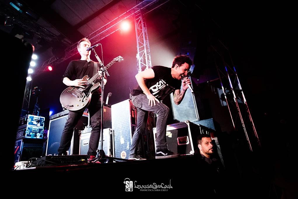 Simple Plan - Ghost Town Bologna - francesca sara cauli 2016_18