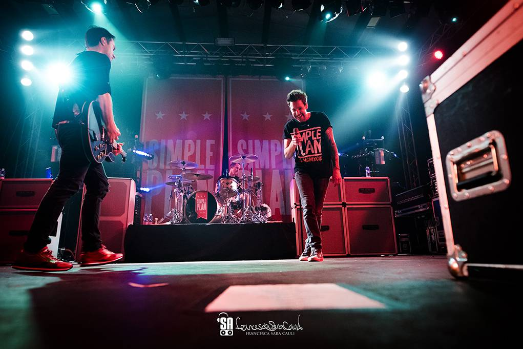 Simple Plan - Ghost Town Bologna - francesca sara cauli 2016_25