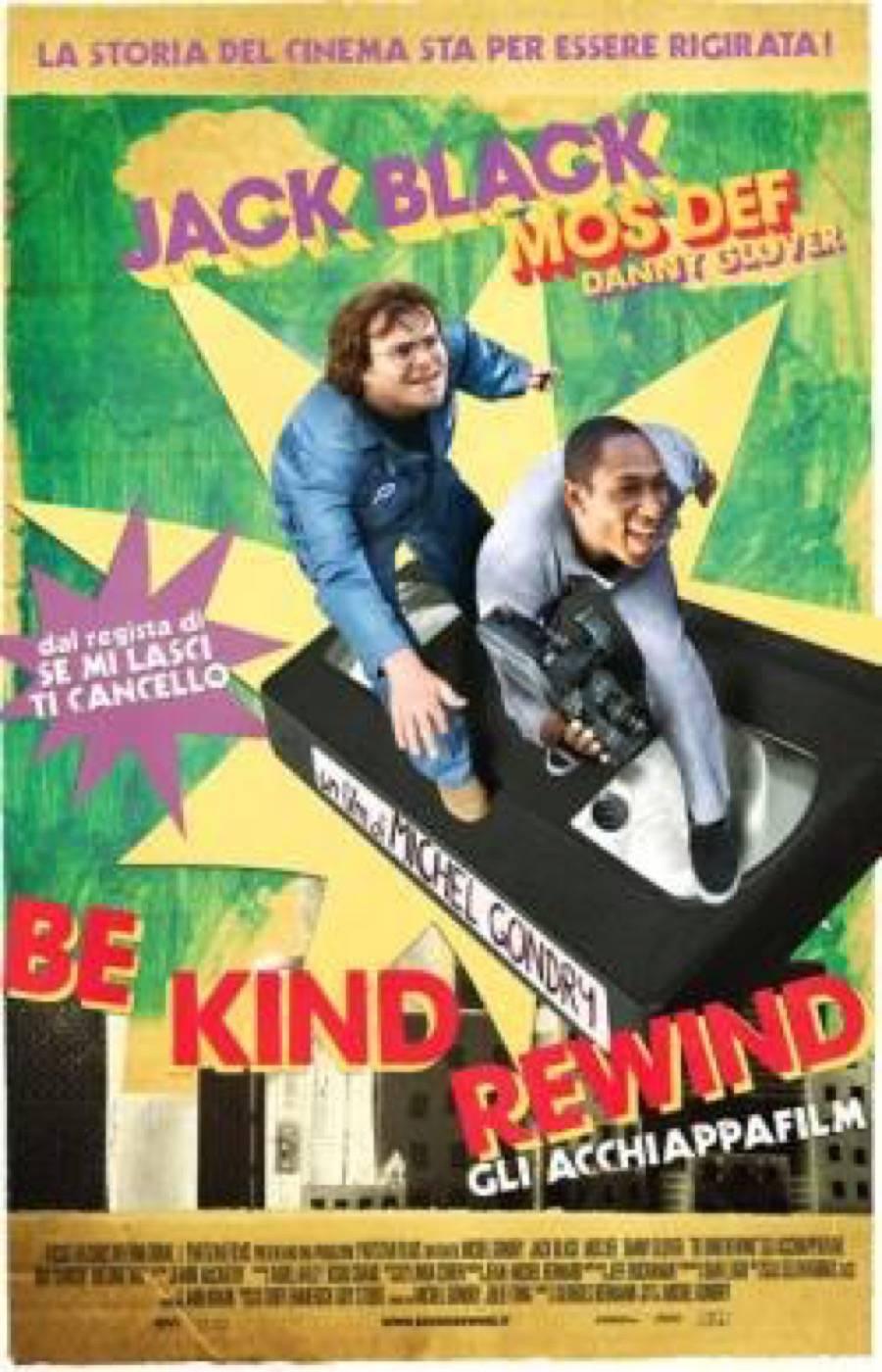 Michel gondry be kind rewind gli acchiappafilm - La ragazza della porta accanto colonna sonora ...