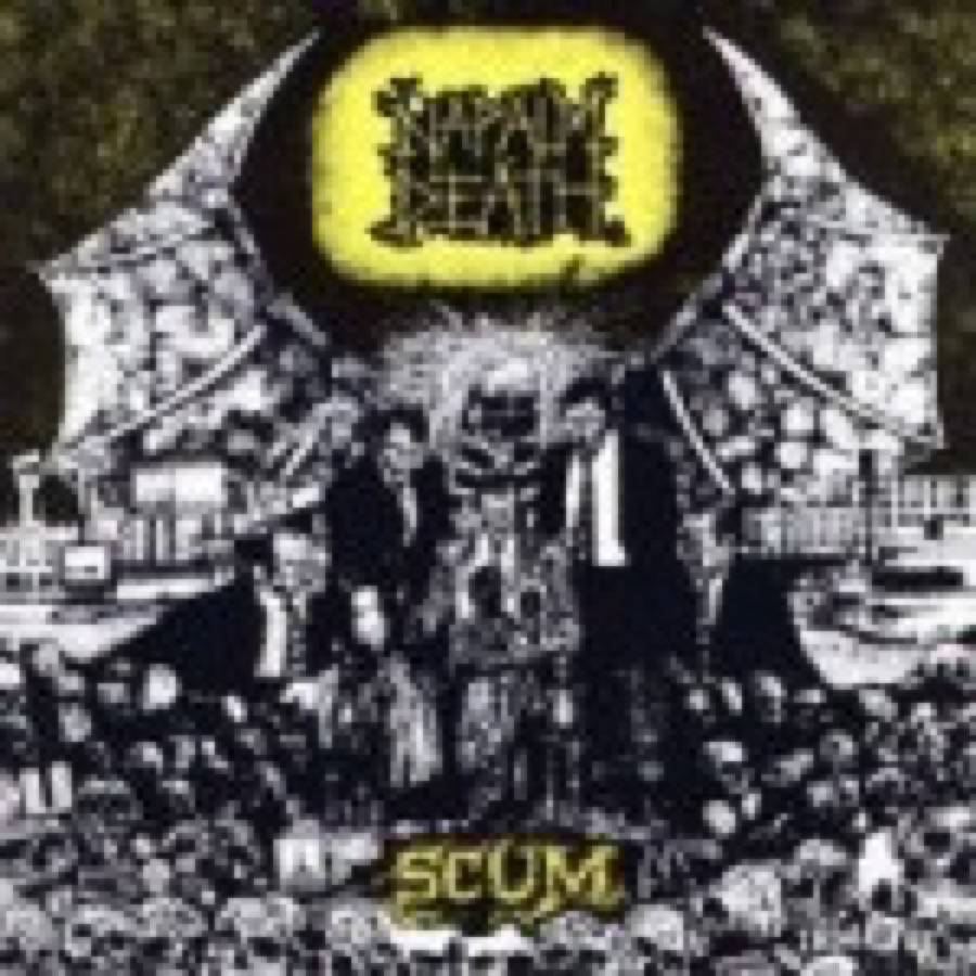 Napalm Death – Scum – 25th Anniversary Edition
