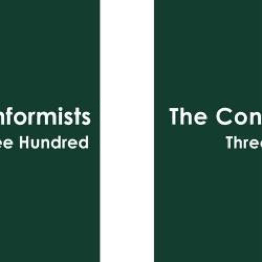 Conformists, The - Three Hundred