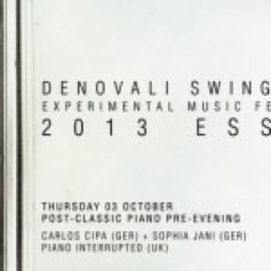 Compilation in free dwld per il Denovali Swingfest