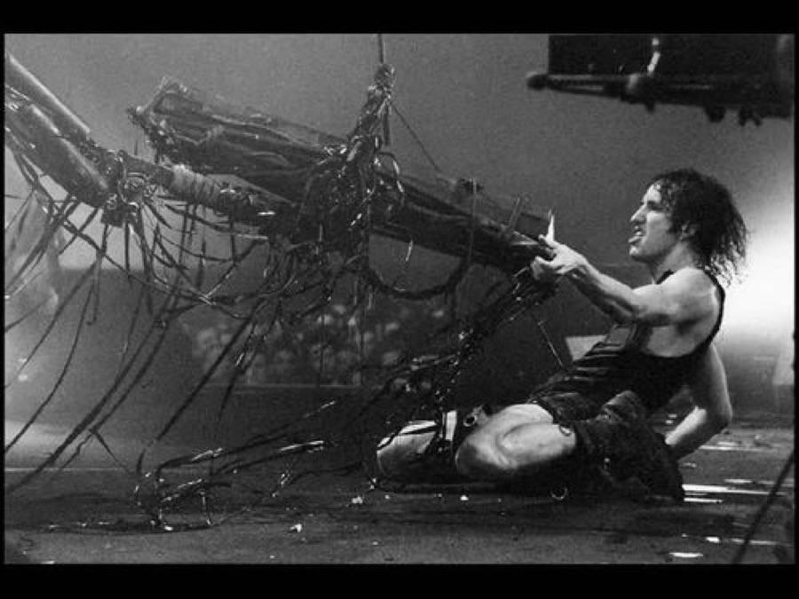 Nine+Inch+Nails live