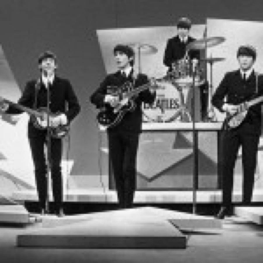 I Beatles all'Ed Sullivan Show nel 1964