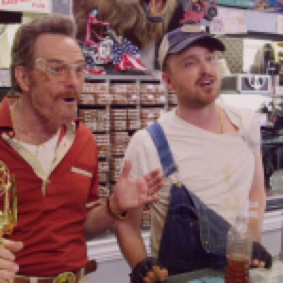 """""""Breaking Bad reunion"""" in un fake reality show, """"Barely Legal Pawn"""""""