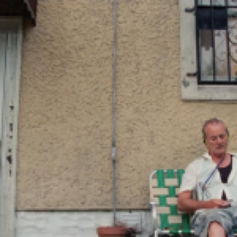 "Bill Murray canta ""Shelter From The Storm"" di Bob Dylan in una scena del film ""St. Vincent"""