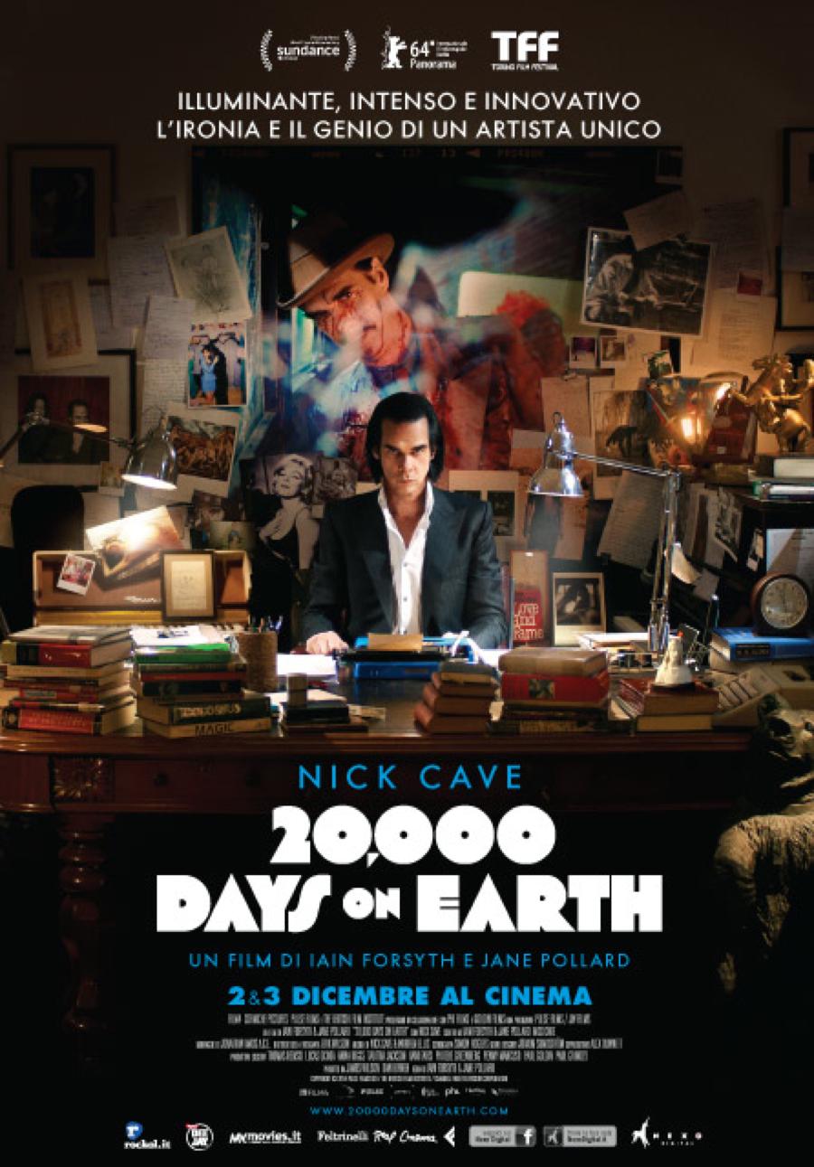 20000 days on earth_locandina italiana