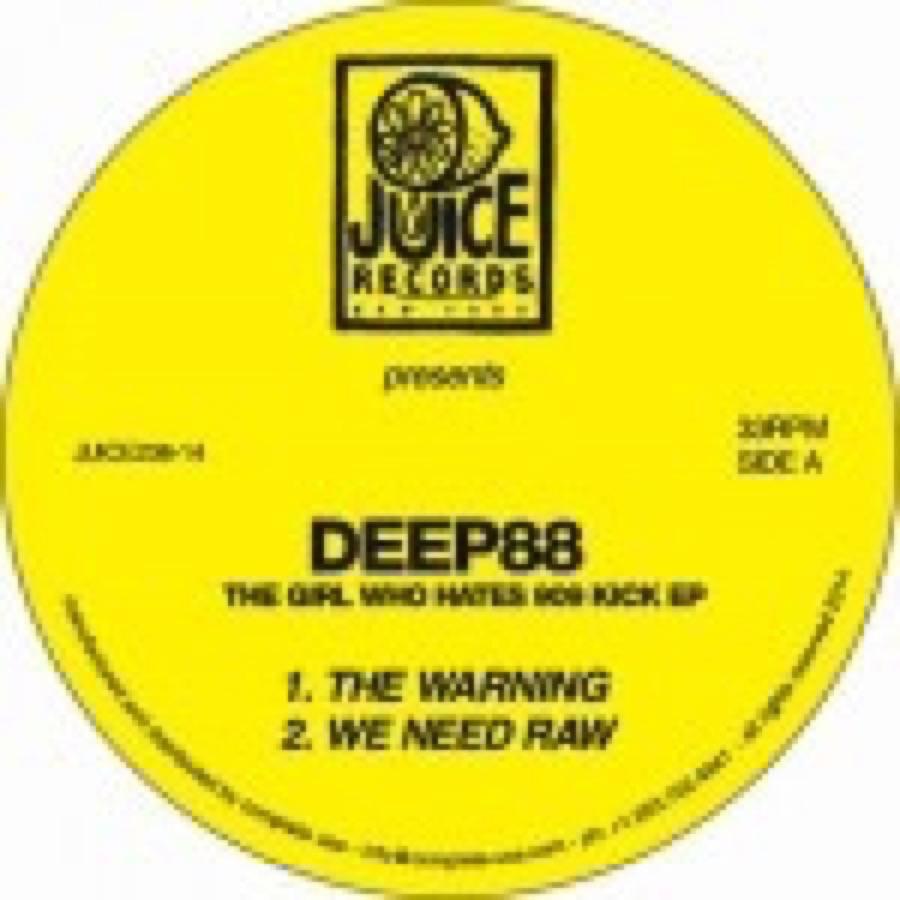 Deep88 – The Girl Who Hates 909 Kick EP