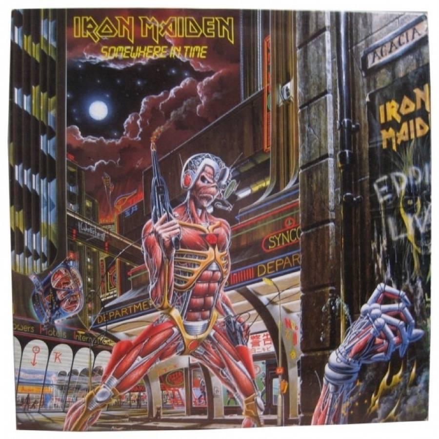 Iron Maiden Somewhere In Time Album Acquista
