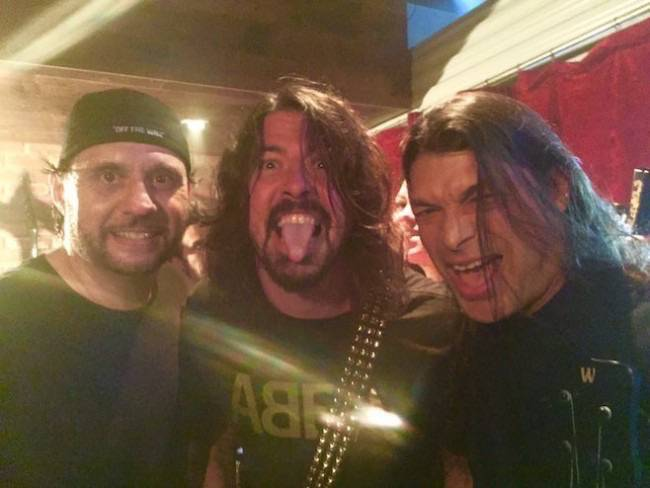 dave grohl metallica