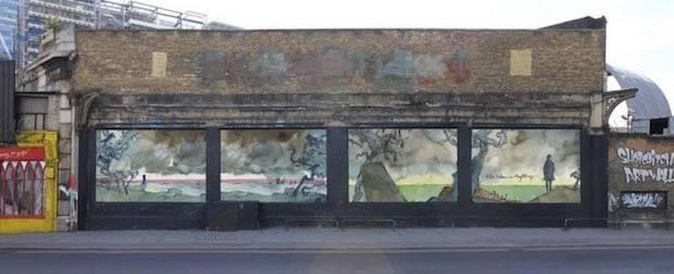 james-blake-murale