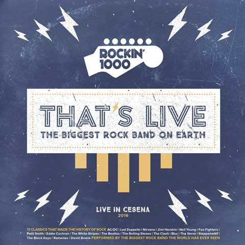 That's Live – The Biggest Rock Band On Earth