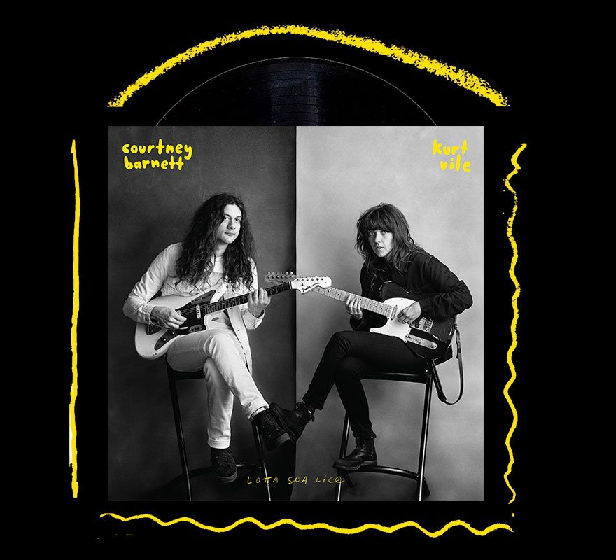 Courtney Barnett / Kurt Vile – Lotta Sea Lice