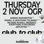 Kamasi Washington, Powell + Wolfgang Tillmans, Club To Club 2017, OGR Torino 2017