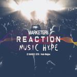 "Musica e marketing, a Torino l'evento ""MARKETERs Reaction: Music Hype"""