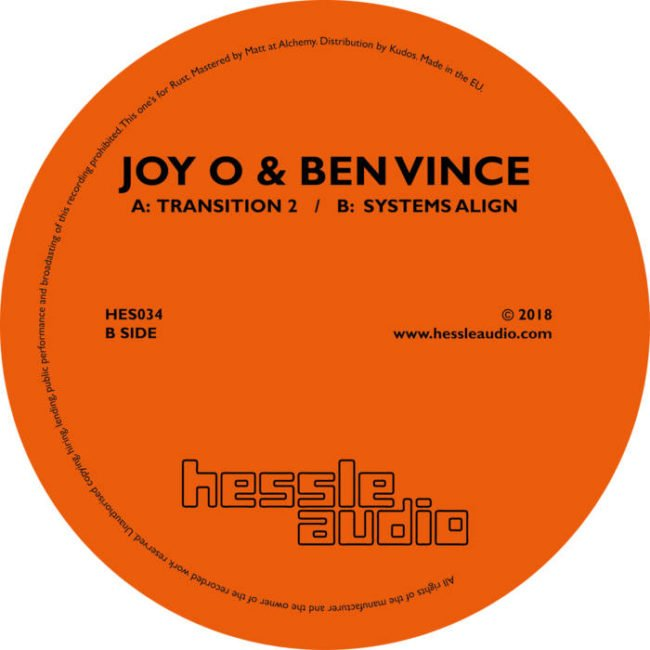 Joy O & Ben Vince – Transition 2 / Systems Align