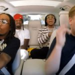 "Migos eseguono ""Bad and Boujee"" e ""Walk It Talk It"" per il Carpool Karaoke di Corden"