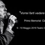 Il 9 e 10 maggio arriva il primo Memorial Claudio Lolli a Bologna
